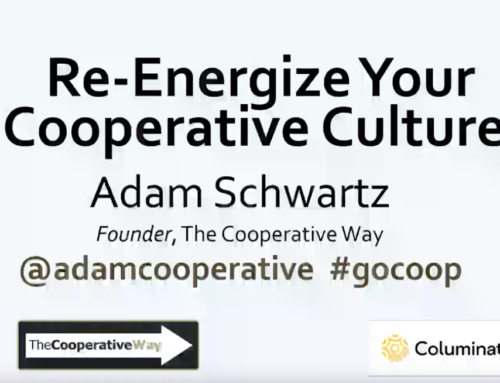 Re-Energize your Co-op Culture